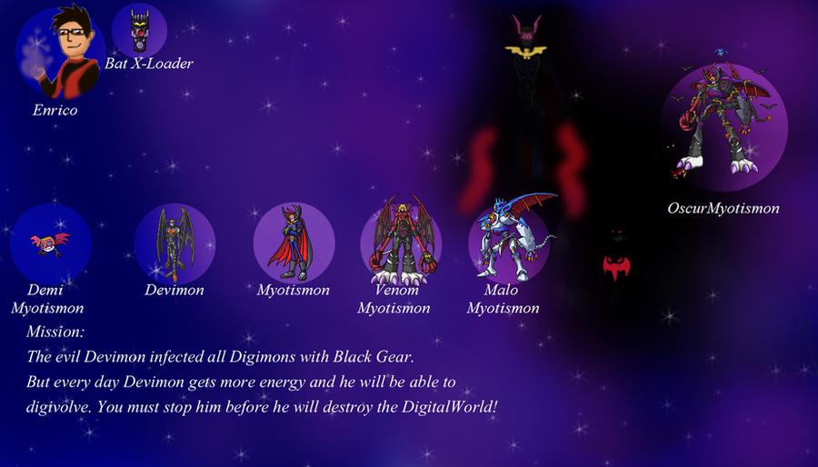 Enrico Contest: Great Enemy! Devimon!!! by EnoGreymon