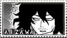 BnHA Shota Aizawa Stamp by Deleamus