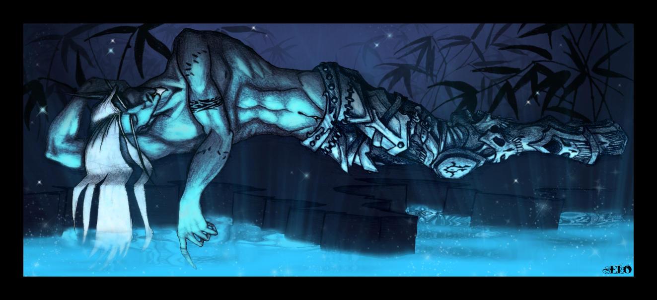 Dreams of a Death Knight by MuddyIXI