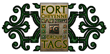 Fort Cheyenne Tags by Trishields