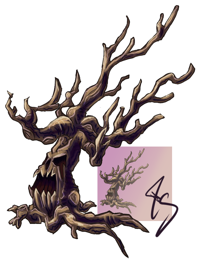Evil Tree - IoE by MuddyIXI