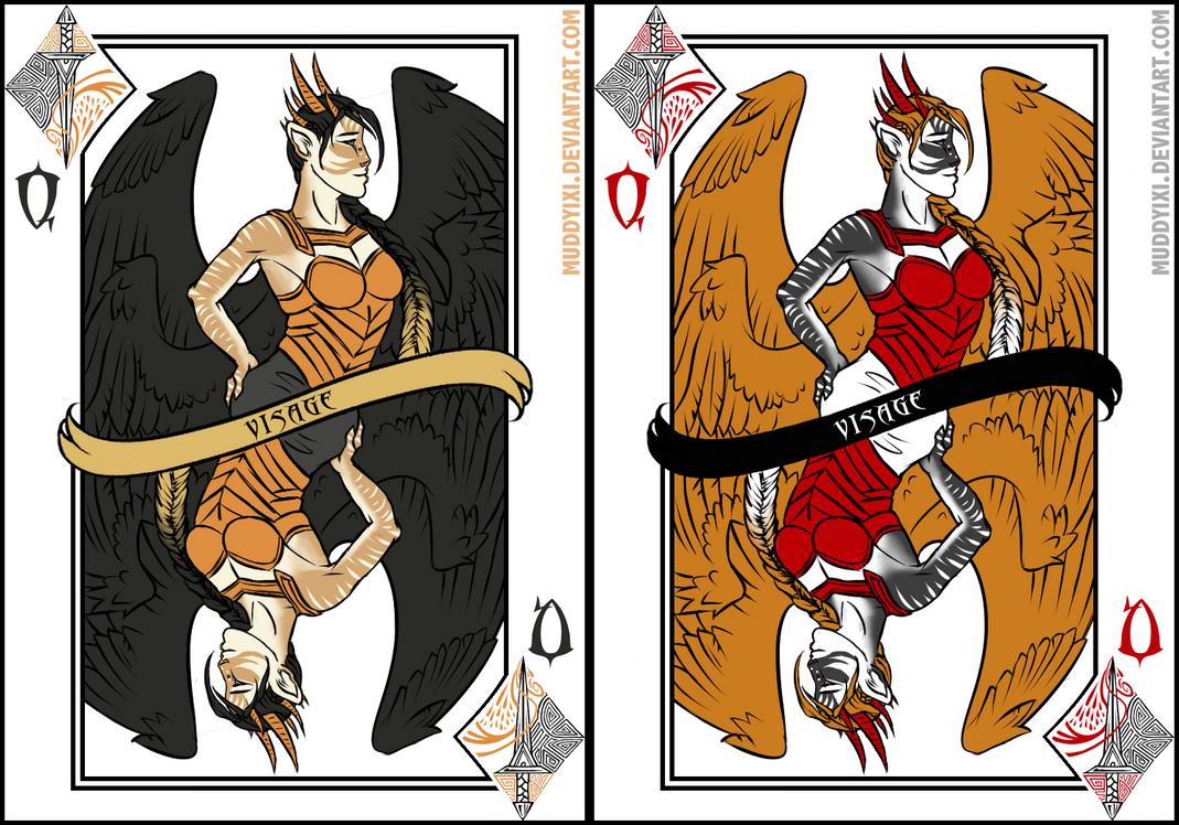Queen of Daggers - Visage by MuddyIXI
