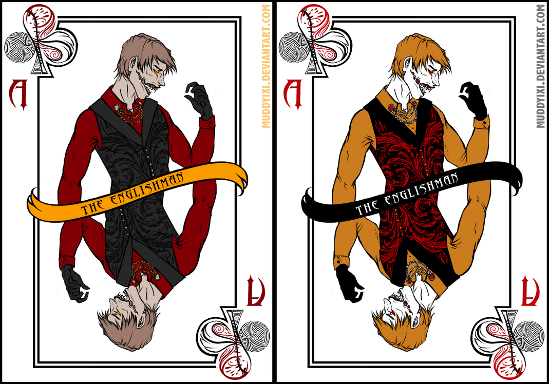 Ace of Clubs - The Englishman by MuddyIXI