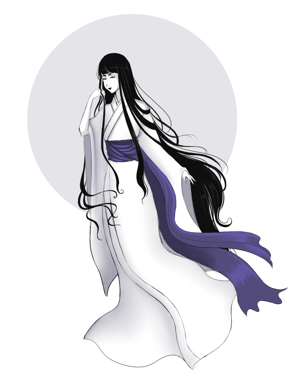 Yuki Onna By Opal Tea On Deviantart