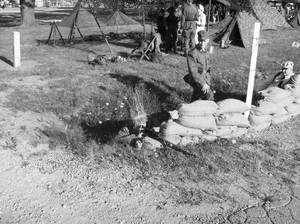 The Sniper In The Trench BW