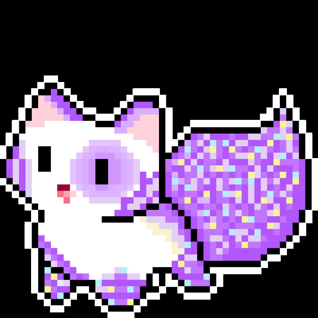cat pixel art gallery