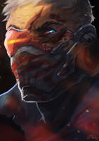 Soldier76 by senes