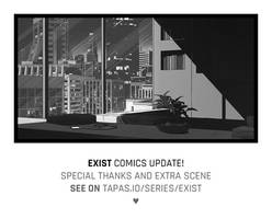 'Exist' comics update! by senes
