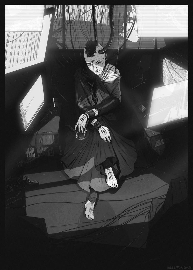 The priestess by senes