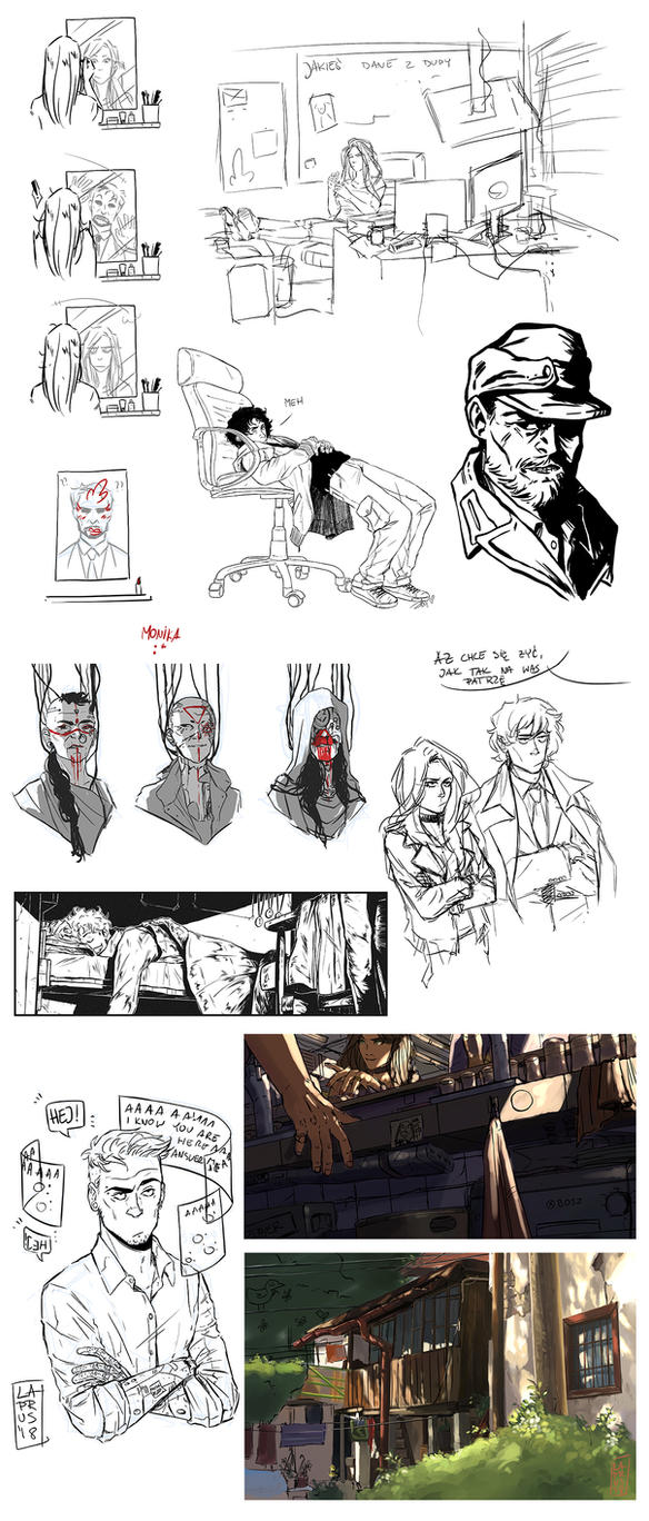 Sketchdump! by senes