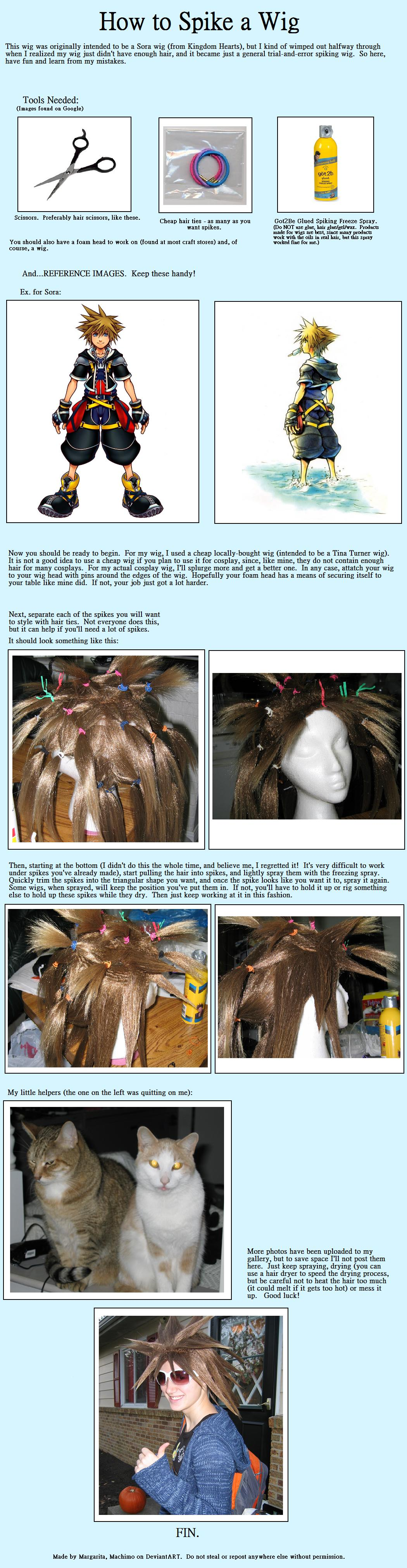 Tutorial - Spiking a Wig