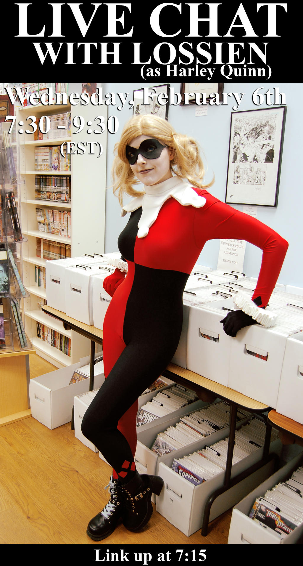 Live Chat : Harley Quinn by Lossien
