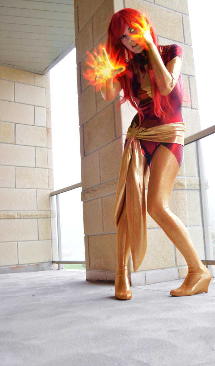 Held At Bay : Dark Phoenix by Lossien