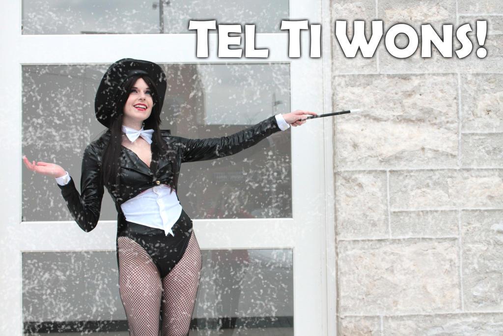 Tel Ti Wons~! : Zatanna