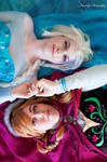 Together Again : Frozen : Elsa and Anna