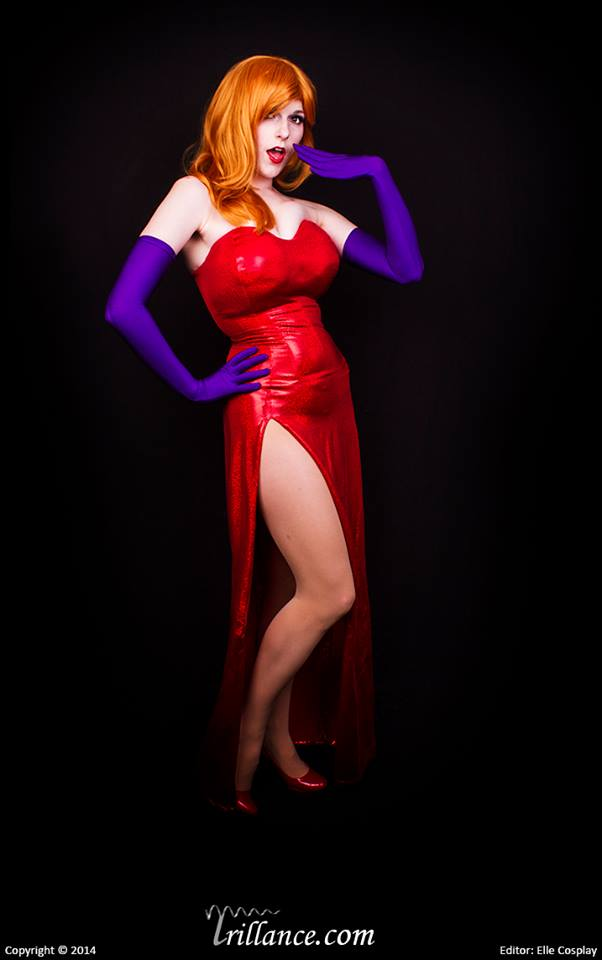 Oops : Jessica Rabbit by Lossien