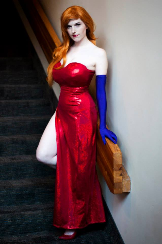 Stairs and Stares : Jessica Rabbit by Lossien