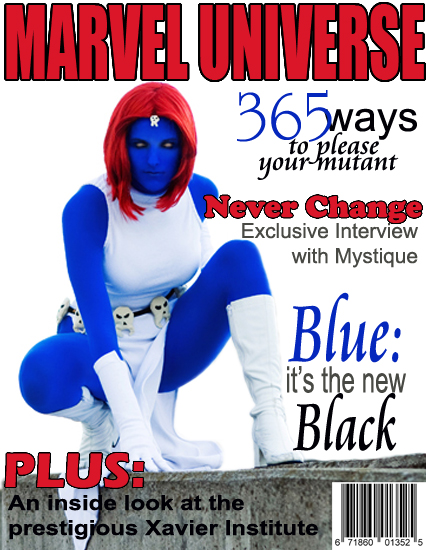 Marvel Universe : Cover : Mystique by Lossien