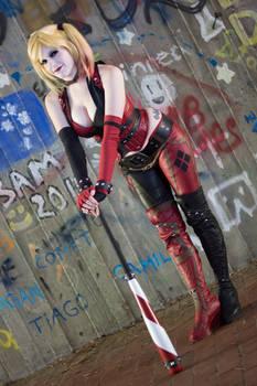 Taking a Break : Arkham City : Harley Quinn
