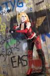 Batter Up! : Arkham City : Harley Quinn