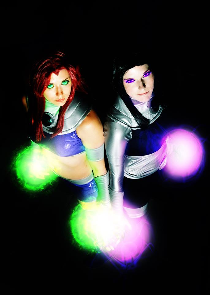 Starbolts : Teen Titans : Starfire and Blackfire by Lossien