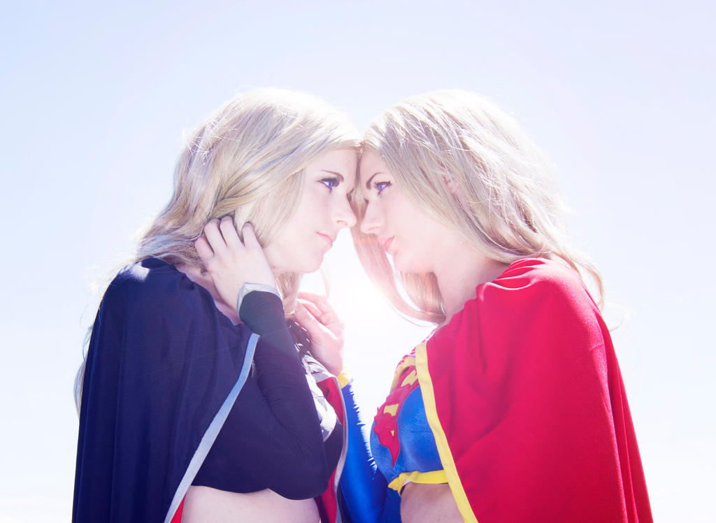 In Your Eyes : DC Comics : Supergirl and Dark by Lossien