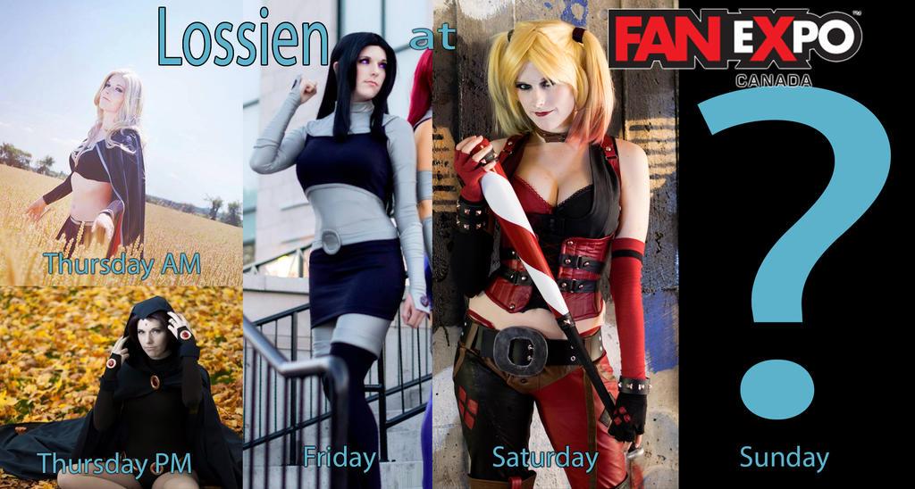 Fan Expo Toronto 2015 : Cosplay Plans : Lossien by Lossien