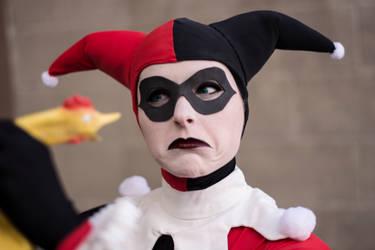 I am Disappoint, Son : Harley Quinn : Batman by Lossien