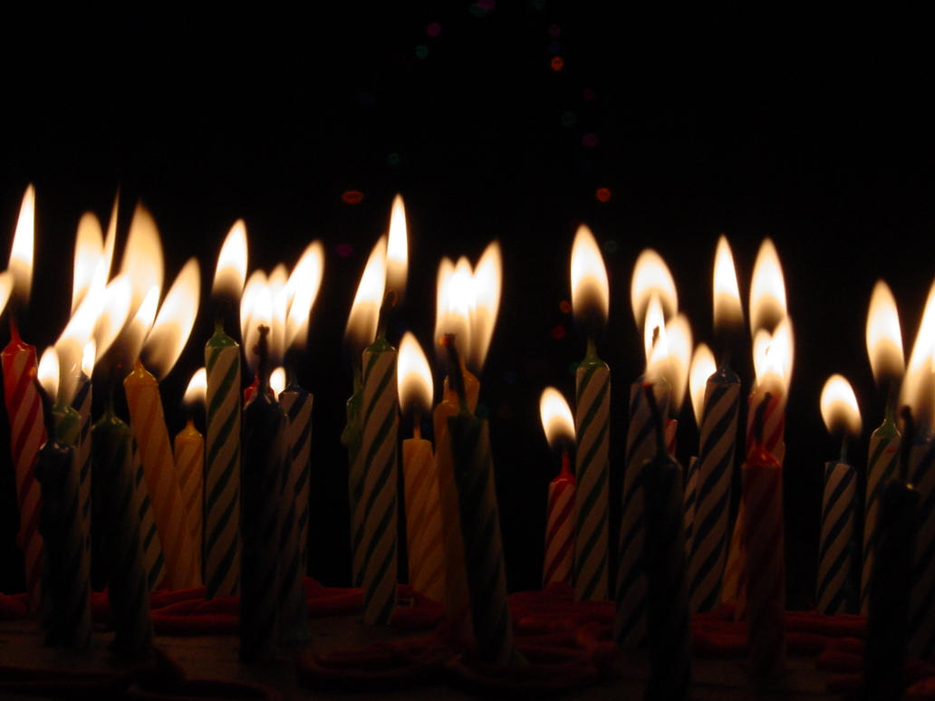 Birthday Candles By Treeclimber Stock On Deviantart