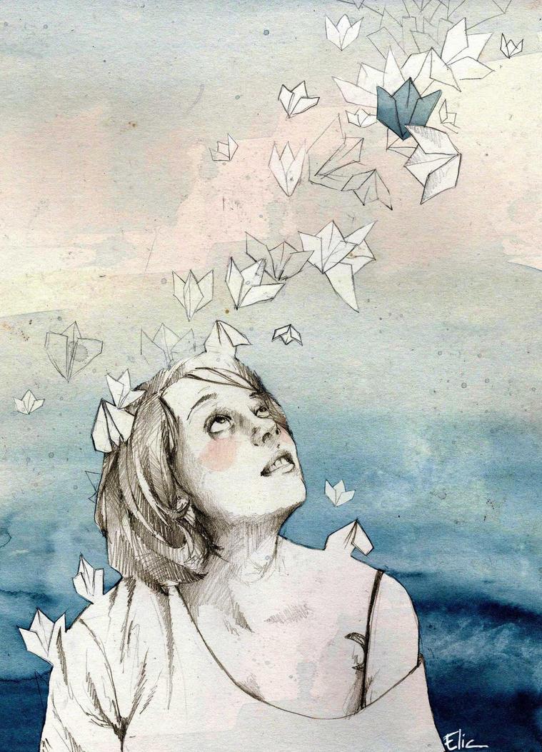Dreams by elia-illustration