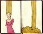 Rapunzel by elia-illustration