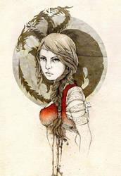 Daenerys Targaryen by elia-illustration