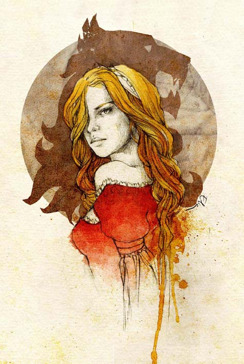 Cersei Lannister by elia-illustration