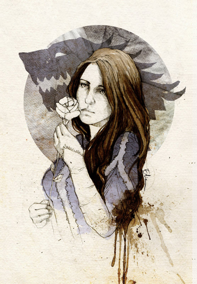 Lyanna Stark by elia-illustration