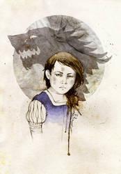 Arya Stark by elia-illustration