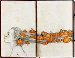 Pumpkin Witch by elia-illustration
