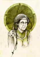 Olenna Redwyne by elia-illustration