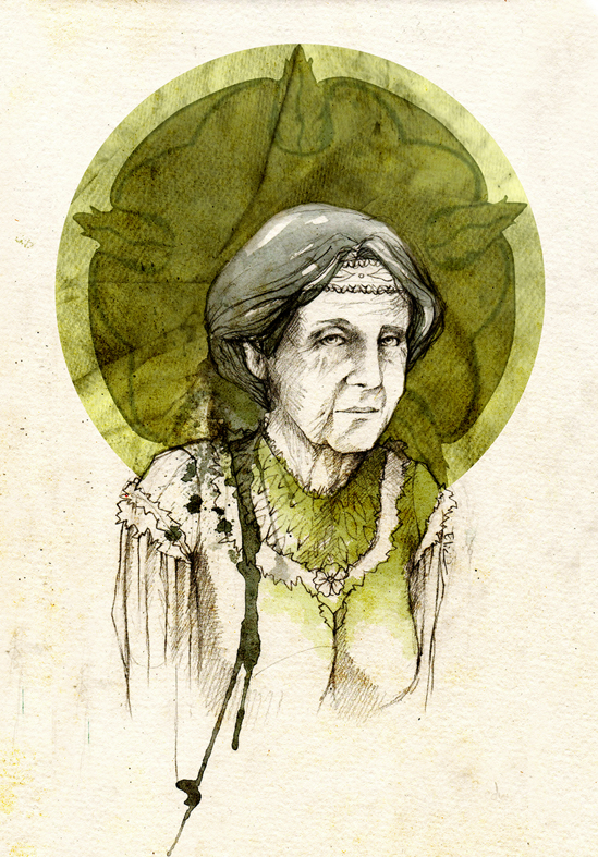 Olenna Redwyne by elia-illustration