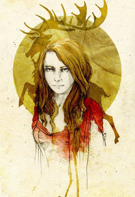 Myrcella Baratheon by elia-illustration