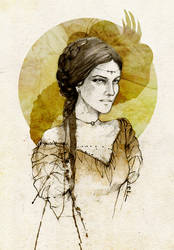 Taena Merryweather by elia-illustration