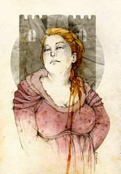 Walda Frey by elia-illustration