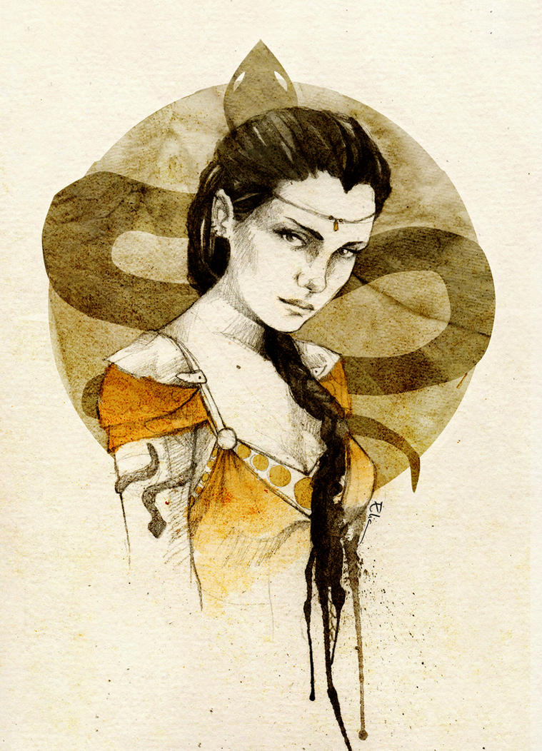 Nymeria Sand by elia-illustration