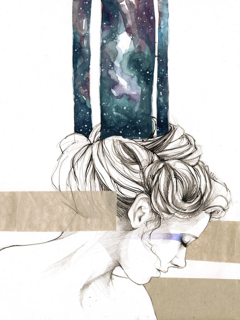 Universe by elia-illustration