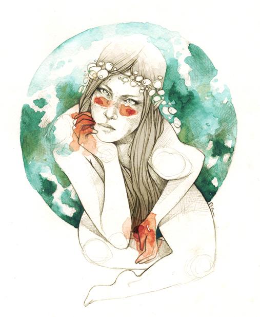 Fairy by elia-illustration