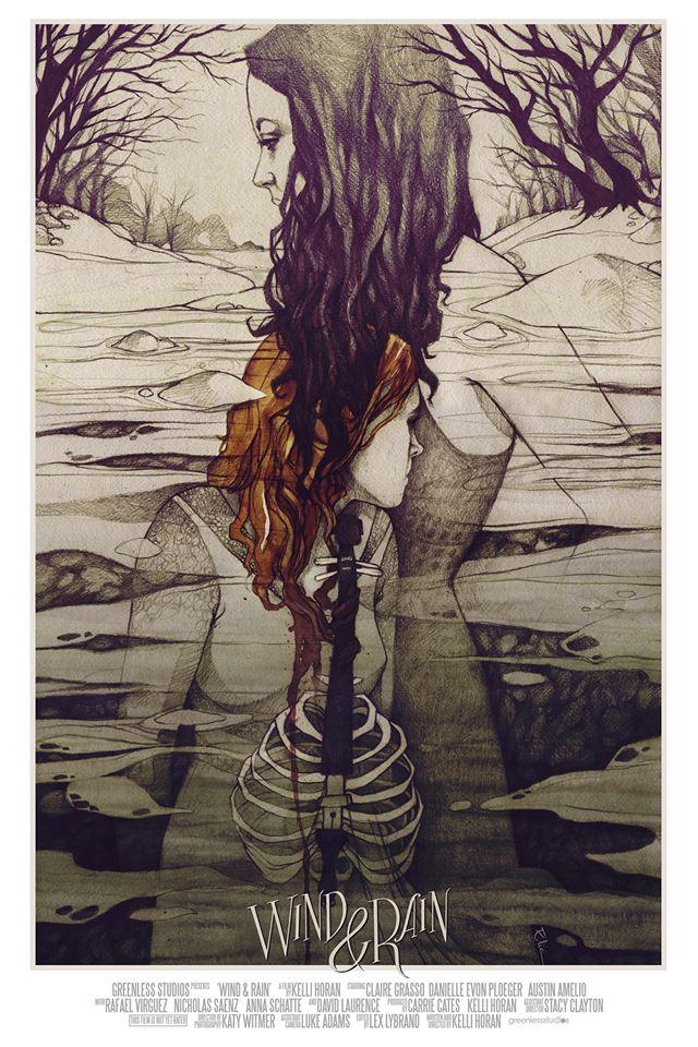 Wind and Rain by elia-illustration