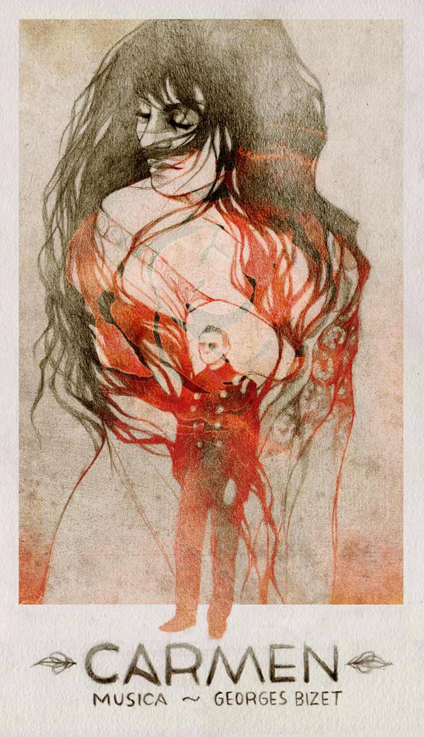 Carmen by elia-illustration