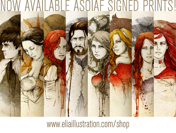 ASOIAF PRINTS by elia-illustration