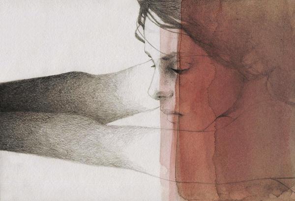 Dark pool by elia-illustration