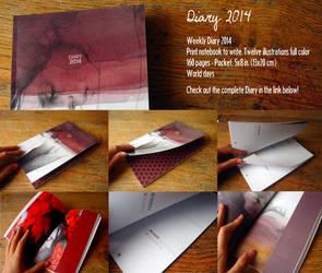 Diary 2014 by elia-illustration