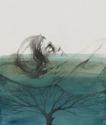 Breathe water by elia-illustration